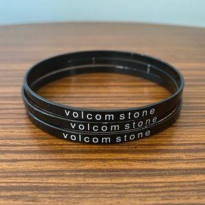 Volcom Bangle Bracelets - Black